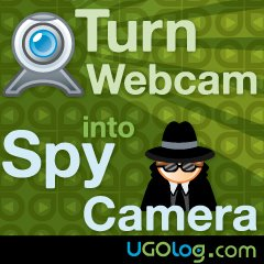 Webcam motion detection
